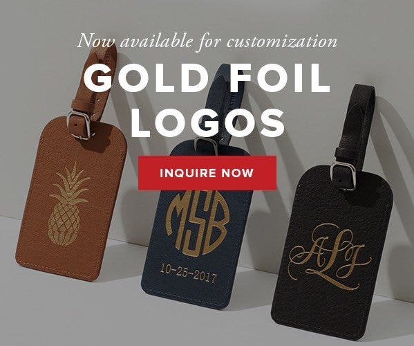 NEWLY LAUNCHED GOLD FOIL LOGOS!