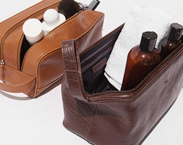 DISCOVER THE PERFECT TOILETRY BAG